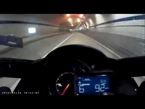 KAWASAKI H2R top speed 100 KPH -- 300 KPH in just 7 sec.!!!!! Incredible
