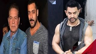 Salman's Dad Salim Khan Celebrates His Birthday   Aamir Khan Nervous For 'Dangal'