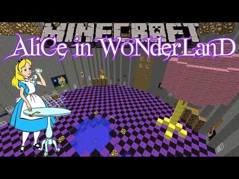 Minecraft Alice in Wonderland Custom Map Part 1