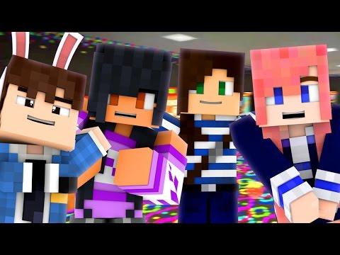 GIRLS NIGHT! - Minecraft Prop Hunt