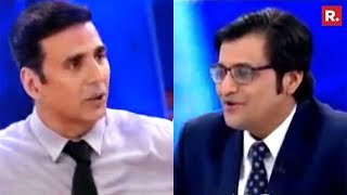 Akshay Kumar Speaks Exclusively To Arnab Goswami | The Debate