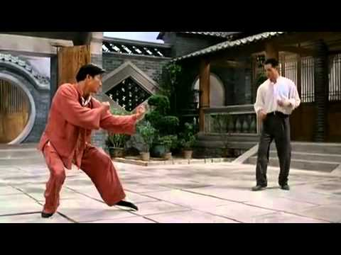 Jet Li VS Wu Shu Master.
