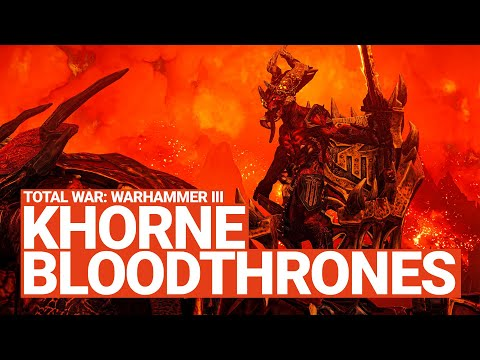 Khorne Blood Thrones Unit Spotlight Total War WARHAMMER III