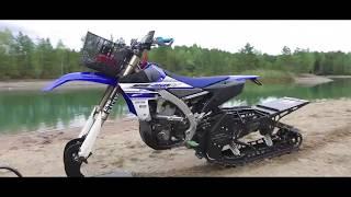 Snowbike & Snowmobile on water! [Superretards 2017 SWK]