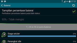 Tutorial penghemat baterai (sudah di uji pada samsung galaxy s5)