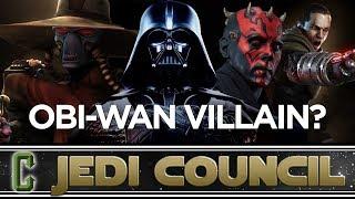 Who Will Be The Villain In The Obi-Wan Kenobi Movie? - Collider Jedi Council