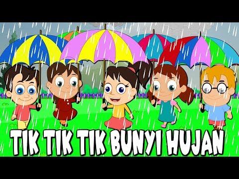 Tik Tik Tik The Sound of the Rain   Indonesian Kids Songs   Compilation 22 minutes