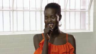 Getting to know Adut Akech