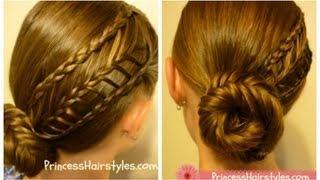 Arrow Braid Hairstyle, hair4myprincess