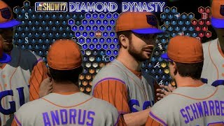 MLB The Show 17 Diamond Dynasty with SGU EP8 Making Progress in Conquest Mode + First Diamond Player