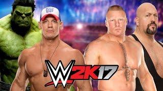 Hulk and John Cena vs Brock Lesnar and Big Show