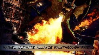 Marvel: Ultimate Alliance PS4 Walkthrough Part  2