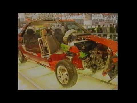 SKODA FELICIA MOTOR SHOW GENEVA 1996