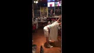 One hard public spank at the Heart Attack Grill Las Vegas (Miquelli's Amerikablog)