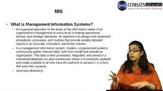 Management Information System in Hindi Urdu  LECTURE 01