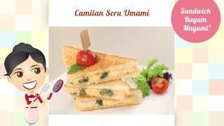 Dapur Umami - Sandwich Bayam Mayumi