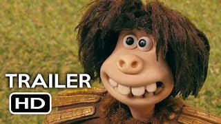 Early Man Official Trailer #2 (2018) Eddie Redmayne, Tom Hiddleston Animated Movie HD