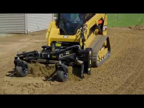 Cat® Power Box Rake Attachment Operating Tips