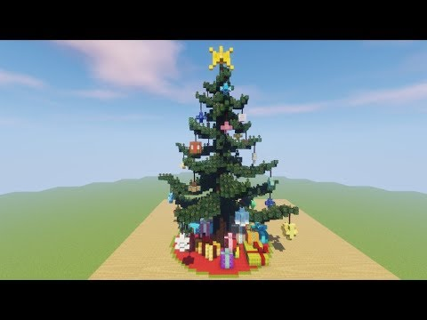 Xxx Mp4 GIANT Christmas Tree Tutorial Minecraft Timelapse Download Included 3gp Sex