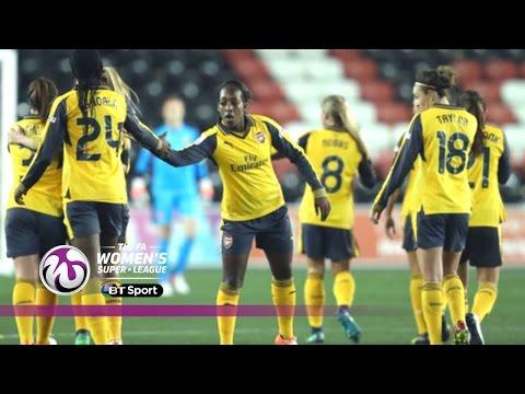 Liverpool Ladies 3-5 Arsenal Ladies | Goals & Highlights