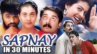 Hindi Romantic Movie | Sapnay | Showreel |  Kajol | Prabhu Deva | Arvind Swamy