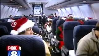 Continental Airlines North Pole Flight