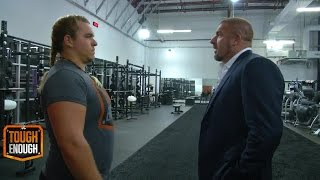 Zamariah Loupe gets a second chance during the tryout - WWE #ToughEnough