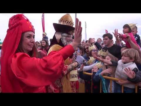 Llegada y Cabalgata de Los Reyes Magos Las Palmas de Gran Canaria 05 01 2019 Canal 4 tv