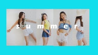 2017 Summer Vacation Outfits | 여름 바캉스룩 패션 코디 | Fairy Tina