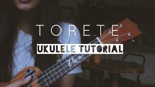 TORETE Ukulele plucking tutorial