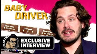 Edgar Wright HAVING FUN in our BABY DRIVER interview for JoBlo.com!