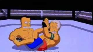 Copy of Ultimate fighter Simpson style