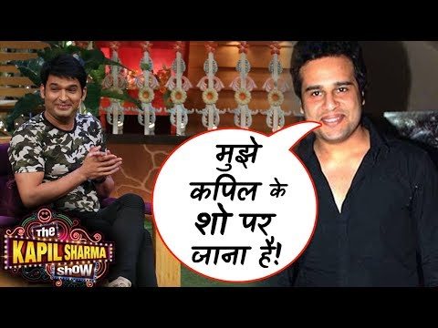 Krushna to promote his new show on The Kapil Sharma Show!