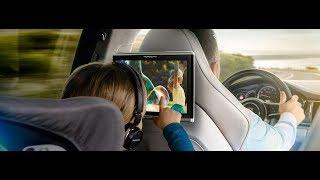 Porsche Rear Seat Entertainment - Cinema on the road