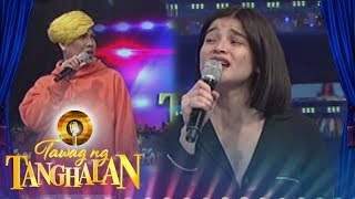 Tawag ng Tanghalan: Anne Curtis sings a few lines from