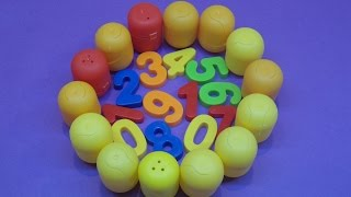 Learn To Count 0 to 10 with Egg Numbers!