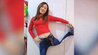 Lovely Amputee Girl Dancing #3