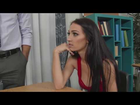 Xxx Mp4 Sexy Teacher In Education Classroom A Cute Student How To French Kissing 3gp Sex