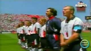 انجلترا VS تونس 2-0 كأس العالم 98 م