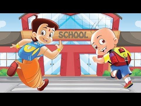 Mighty Raju and Chhota Bheem's - Chalo School Chale