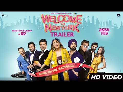 Welcome To New York Trailer | Sonakshi Sinha | Diljit Dosanjh | Karan Johar | 23rd Feb