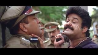 Praja Malayalam Movie | Scenes | Baburaj raids Mohanlal's trust | Mohanlal warns Baburaj | Aishwarya