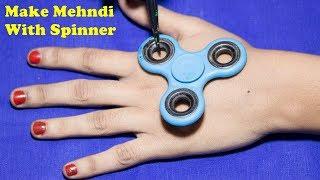 spinner की सहायता से सुंदर मेहंदी लगाना सीखें || || mehndi design || New mehndi design || mehndi