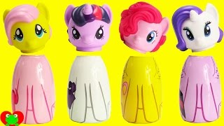 My Little Pony Wrong Heads with Disney Princess Finding Dory and Surprises