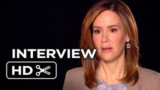 12 Years A Slave Movie Interview - Sarah Paulson (2013) - Steve McQueen Movie HD