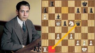 Marshall Law   Capablanca vs Marshall   Game 7