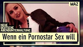 Wenn ein Pornostar Sex will | Lucy Cat übernachtet bei Andreas