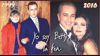 Yo soy Betty, la fea (1999-2016)   Antes y Después