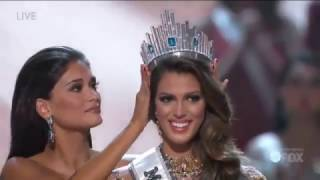 Miss Universe 2016 Iris Mittenaere Crowning Moment
