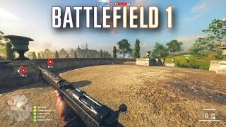 IT LOOKS SO GOOD! - BATTLEFIELD 1 Multiplayer Gameplay